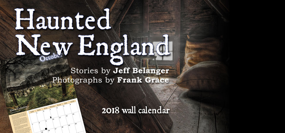 2018 Haunted New England Calendar