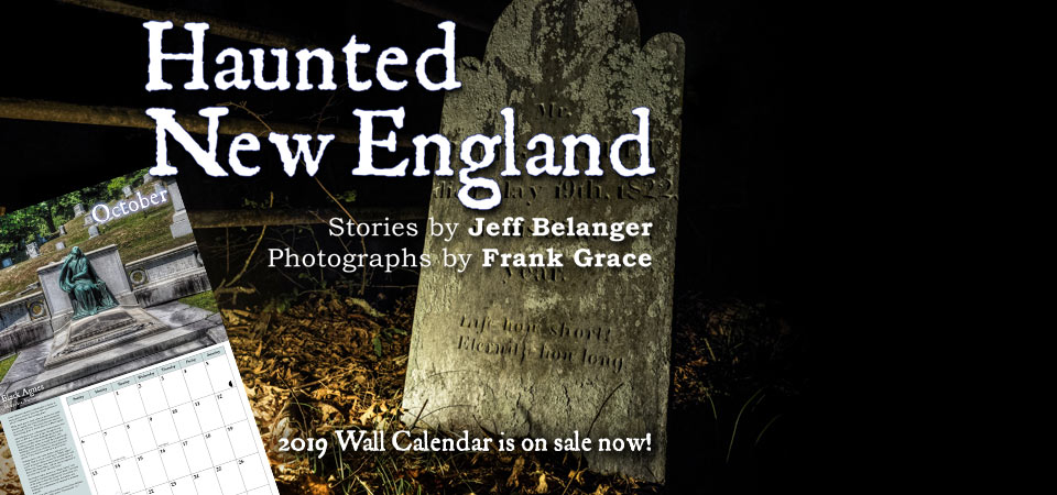 2019 Haunted New England Calendar