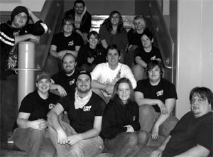 Jeff with the Northern Michigan University Paranormal Research Team